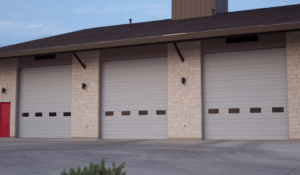 commercial garage doors installed in central arkansas