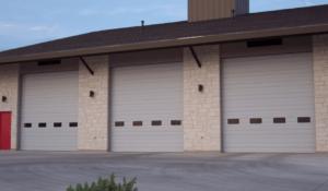 commercial garage doors installed in central arkansas
