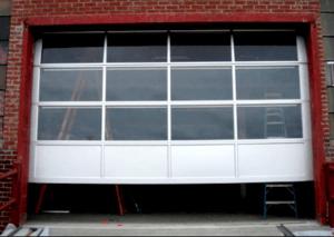 commercial garage door repair we did in little rock ar.