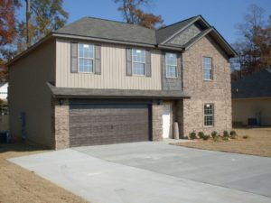Here is a picture of a residential garage door repair in little rock that we did.