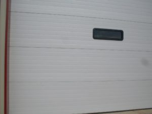 this is a commercial door installation in Little Rock, AR.