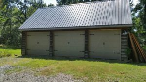 new garage doors we installed in hot springs village, ar