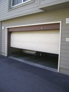 cabot garage door repair job