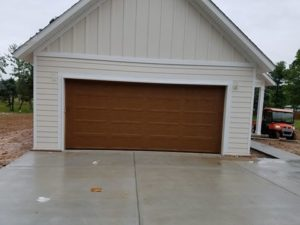new garage door in hot springs, arkansas